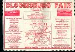 Placemat-Bloomsburg Fair Advertisment!