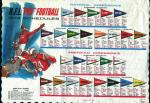 Placemat-NFL Schedules for 1973!