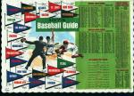 Placemat-1973 Baseball Schedules NL and AL!