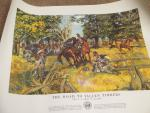 U.S. War Office 1953 History of Army Posters-Lot of 12